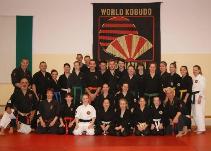 Gruppenfoto mit Kyoshi Elidio in Graz